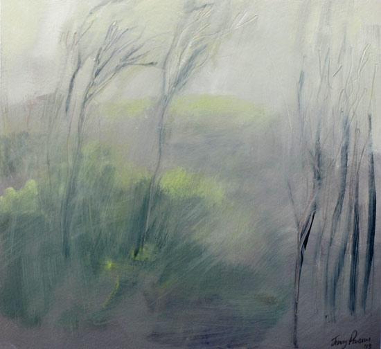 Misty Hillside II