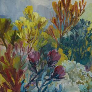 Three Proteas