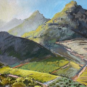 Kasteelberg from the Pass