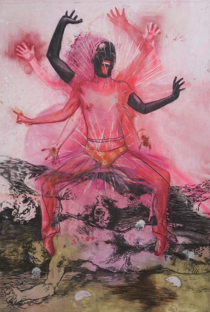 "Kali  ""The power of orange knickers"""