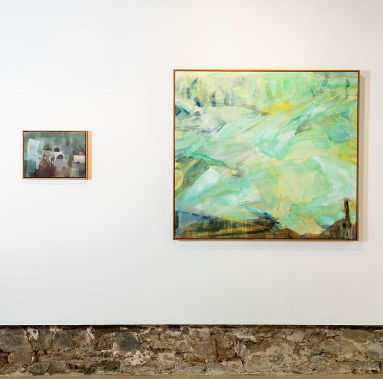"""Installation shot of """"Echoes from the South"""""""