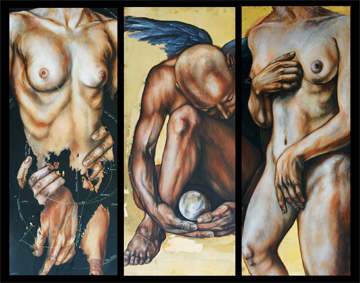 The Lovers Triptych