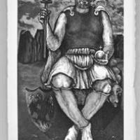 he Emperor, from the Tarot Card Series
