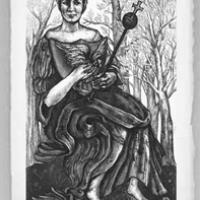 The Empress from the Tarot Card Series