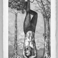 The Hanging Man from the Tarot Card Series
