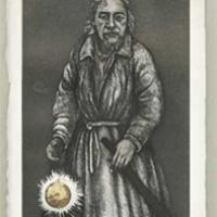 The Hermit from the Tarot Card Series