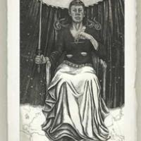 Justice from the Tarot Card Series