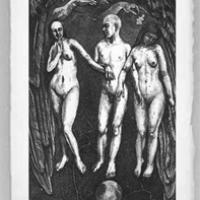 The Lovers from the Tarot Card Series