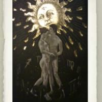 The Sun from the Tarot Card Series