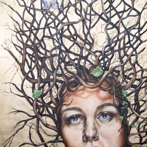 Noli me Tandere (do not touch me), the story of Daphne the woman turned into a tree.