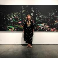 At the Jo\'Burg Art Fair